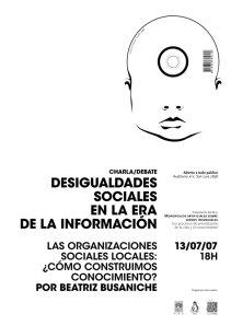 Afiche Presentación del Libro en Santa Fe