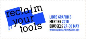 Logo Libre Graphics Meeting 2010