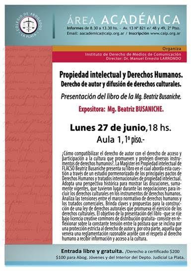 Afiche Prop Intelectual Busaniche Jun 2016