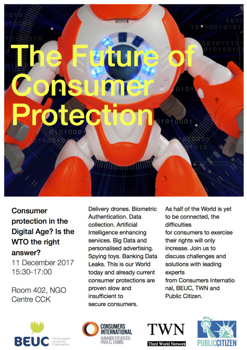 Defensa de los consumidores en la era digital. Evento en #MC11