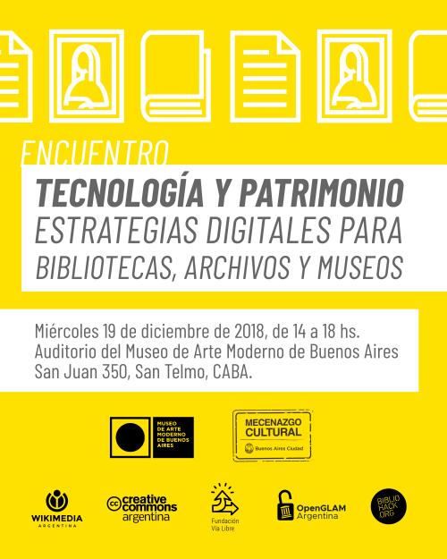 Tecnología y Patrimonio. Estrategias digitales para museos y archivos
