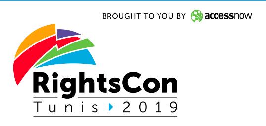 Vía Libre en RightsCon 2019