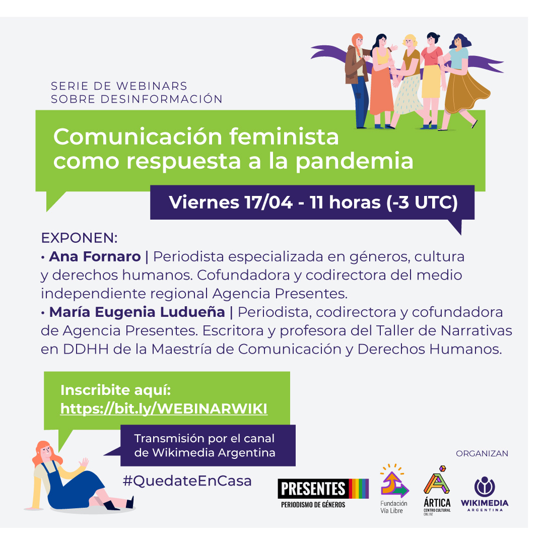 Webinar: Comunicación feminista como respuesta a la pandemia