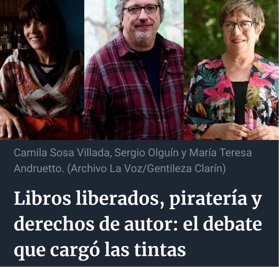 Libros liberados, piratería y derechos de autor: el debate que cargó las tintas