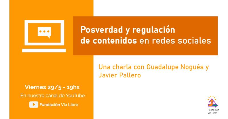FlyerCharlaPosverdadRegulacion