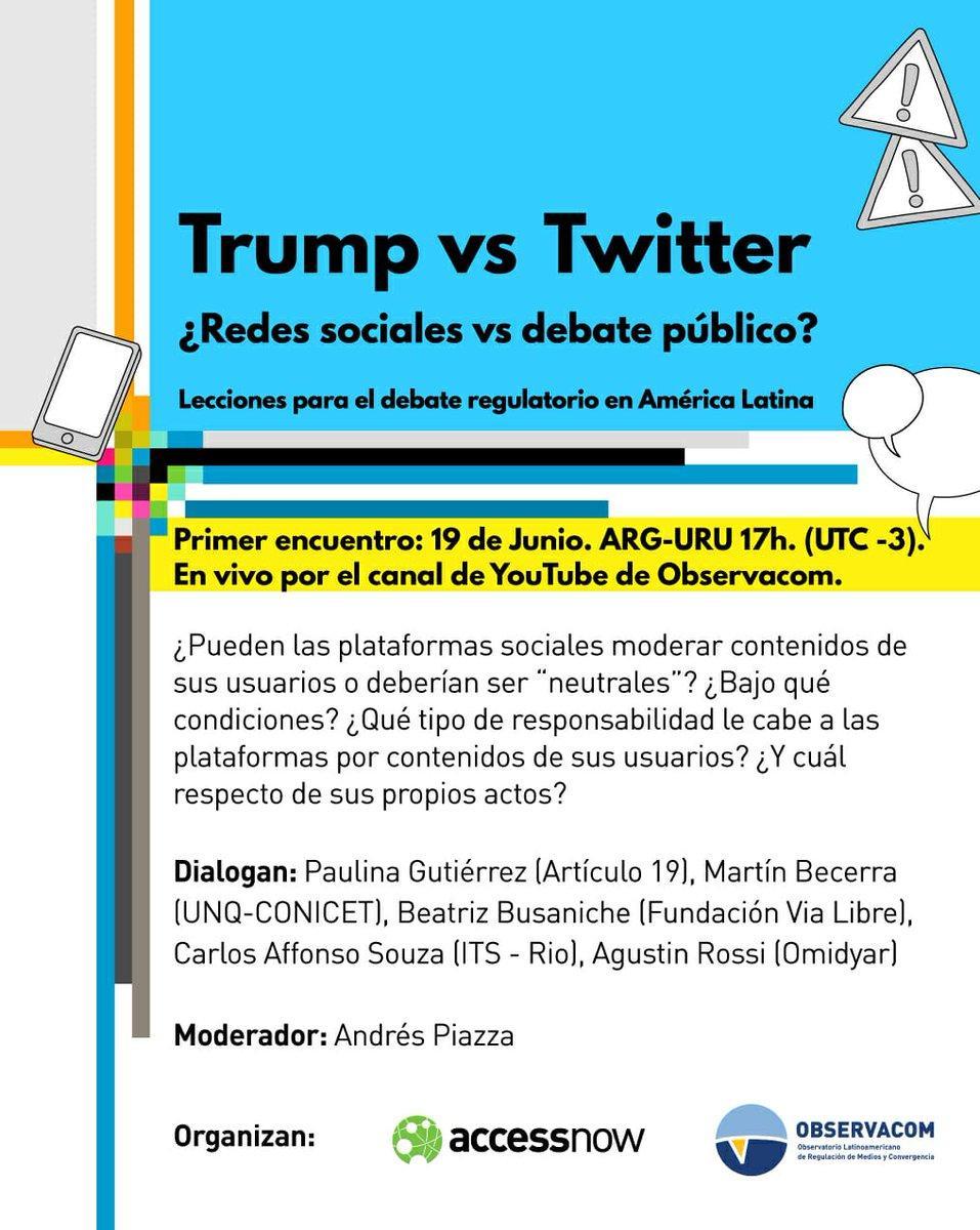 Trump vs. Twitter: ¿Redes sociales vs. debate público?