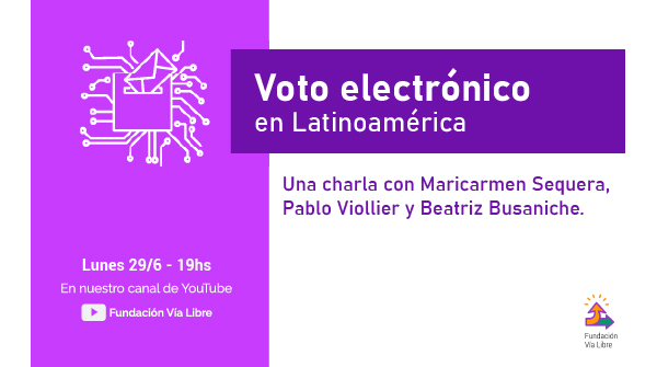 Talk: Electronic voting in Latin America