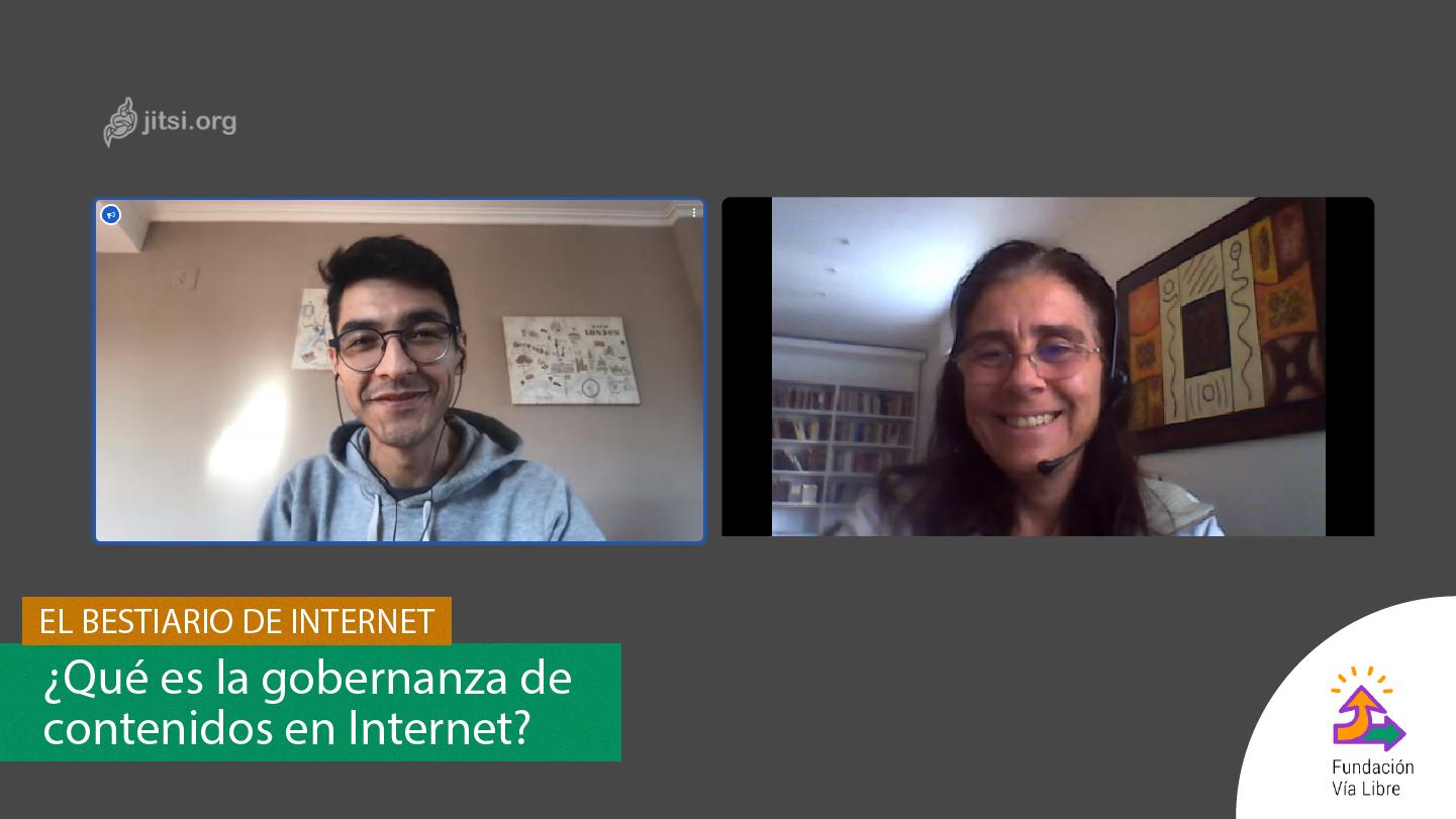 El Bestiario de Internet – ¿Qué es la gobernanza de contenido en internet? Con Javier Pallero