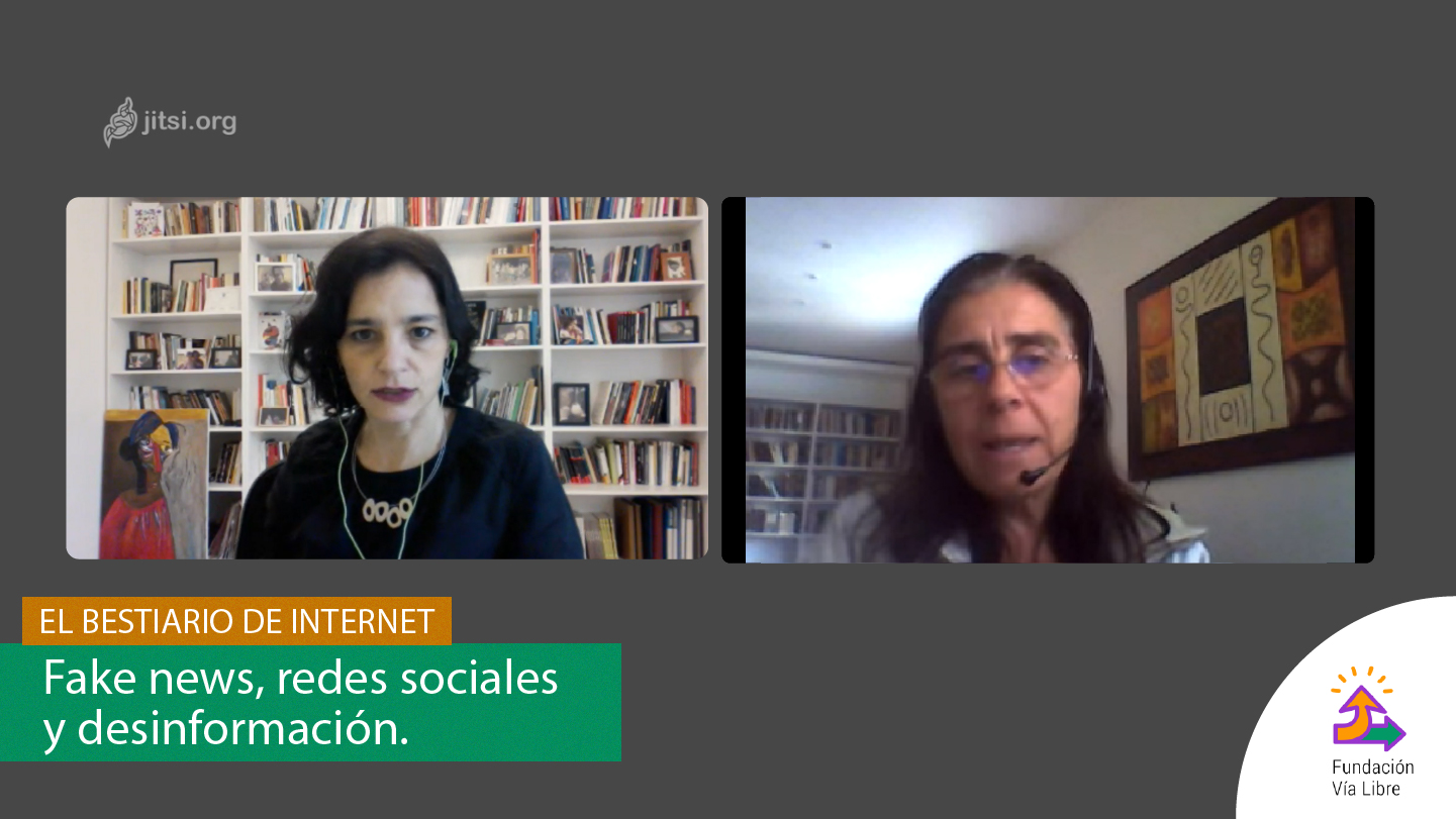 El Bestiario de Internet –  Fake news, social networks and misinformation. With Natalia Aruguete.