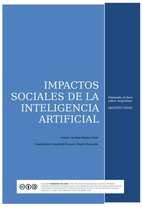 Impactos sociales de la inteligencia artificial