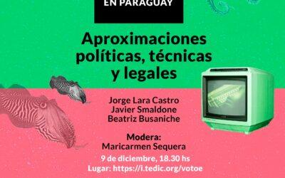 """Participamos del lanzamiento de la serie """"Voto Electrónico en Paraguay"""""""