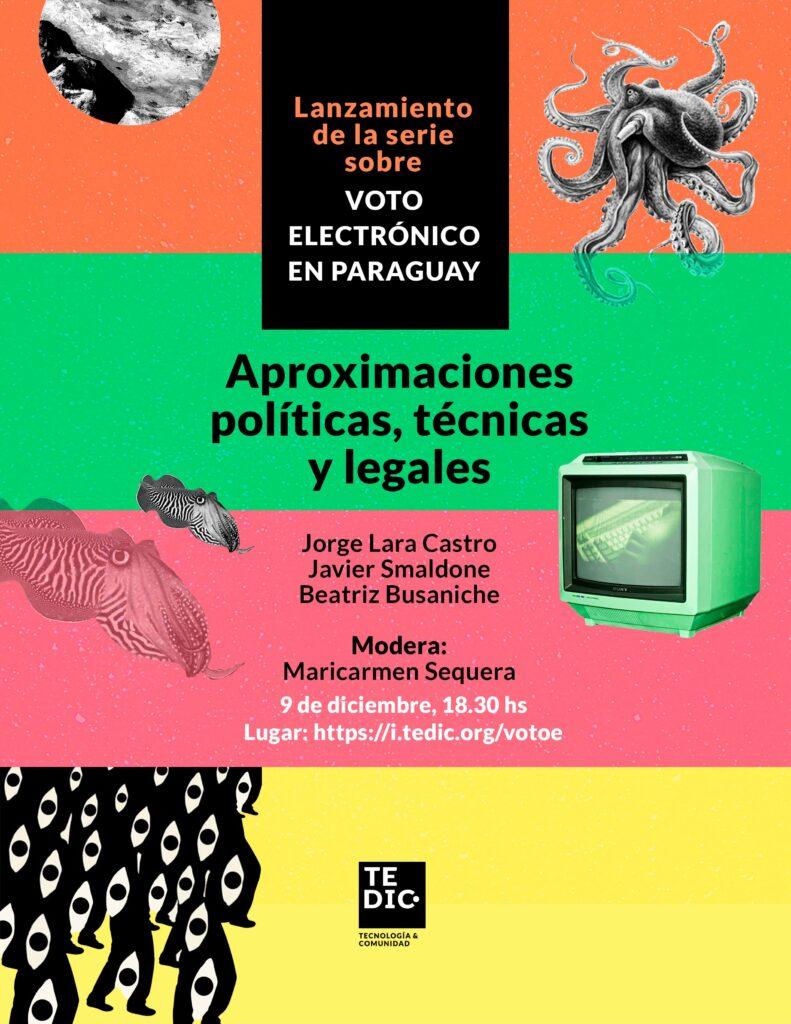Portada Voto Electrónico en Paraguay