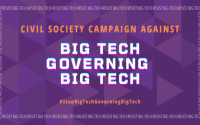 More than 170 Civil Society Groups Worldwide Oppose Plans for a Big Tech Dominated Body for Global Digital Governance