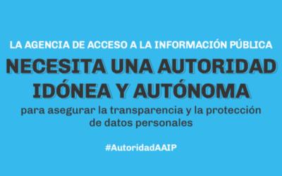 AAIP: El Poder Ejecutivo Nacional deberá presentar una nueva propuesta para designar a su autoridad